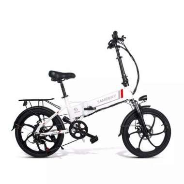 harga Dijual sepeda listrik lipat samebike 20LVXD30 - Putih Limited Blibli.com