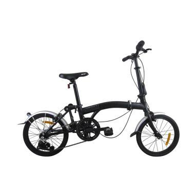 harga Sepeda lipat United Trifold 3 [16 Inch/ 3 Speed] black dan Tosca Blibli.com