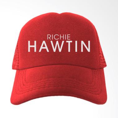 IndoClothing Richie Hawtin Topi Trucker - Merah