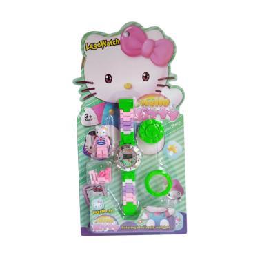 Hello Kitty 1030040156-7 Lego Watch Jam Tangan Anak