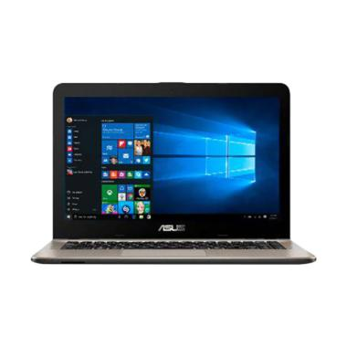 Asus X441NA-GA401T Notebook - Black ... D-RW/Win 10 Home/14 inch]