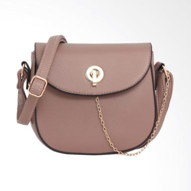 Lorica by Elizabeth Odeya Sling Bag Wanita - Khaki