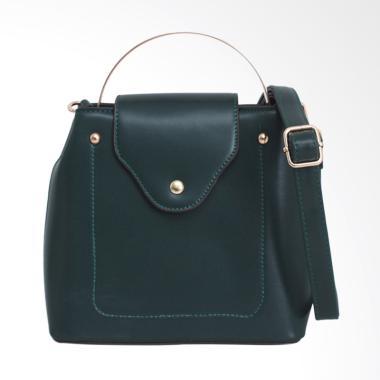 Lorica by Elizabeth Minerva Hand Bag Wanita - Hijau