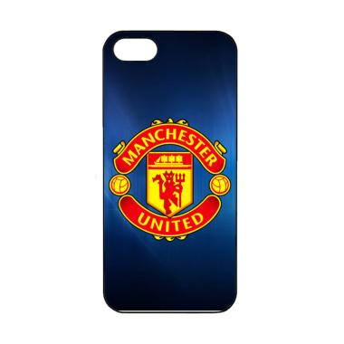 Cococase Man.United Logo J0261 Casing for iPhone 5 or iPhone 5S