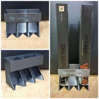 harga Promo tempat kopi nespresso capsule dispenser atau capsule holder 3 bay slot Limited Blibli.com