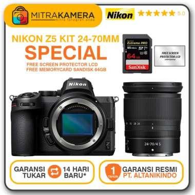 harga Nikon Z5 Mirrorless Digital Kamera Kit 24-70mm Blibli.com
