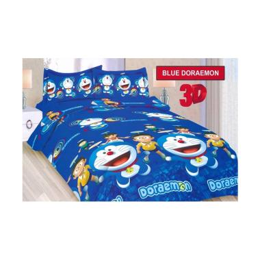 Bonita Motif Doraemon Set Sprei - B ...  Size/ 120 x 200 x 19 cm]