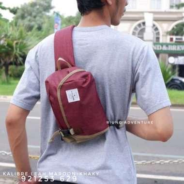 harga Jual Tas Selempang Sling Waist Bag Kalibre Leah 920703 629 Original - Hitam Berkualitas Blibli.com