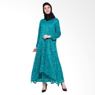 Kasa Heritage Rasha Gamis Muslim Wanita - Green