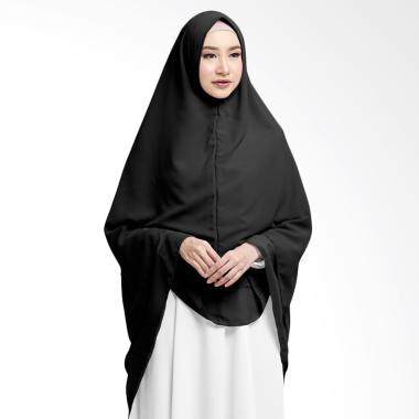 Cotton Bee Zahwa Syar'i Long Khimar Instan - Black