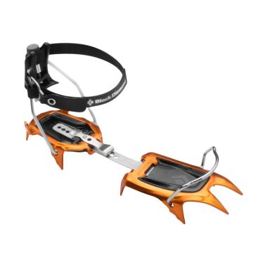 Black Diamond Neve Strap Crampons A ...  Gunung Es - Orange Black