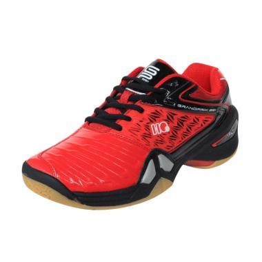 Hi-Qua GrandPrix Sepatu Badminton Pria - Red