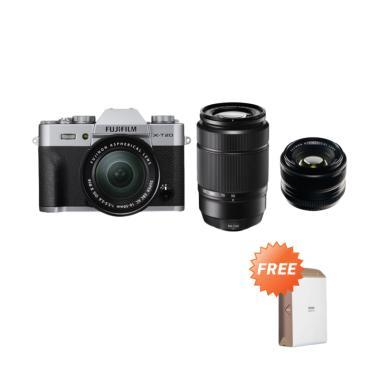 Fujifilm X-T20 kit XC 16-50mm Silve ... + XF35mm F/1.4R jpckemang