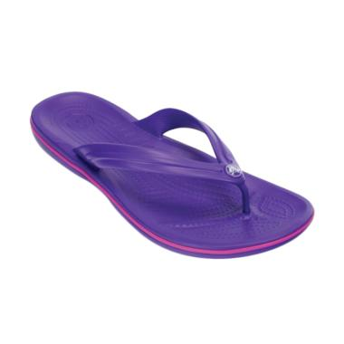 Crocs Crocband Flip Sandal Unisex - Purple [1103359I]