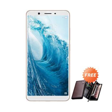 VIVO Y71 Smartphone - Gold [32 GB/ 3 GB] + Free Dompet