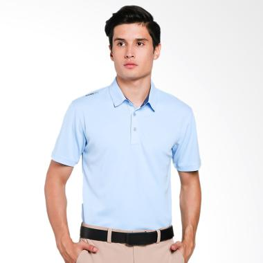 Svinfit Basic Fit Polo Pakaian Golf Pria - Light Blue