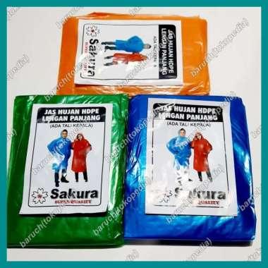 harga Dijual jas hujan poncho ponco klebet lengan panjang plastik murah raincoat Berkualitas Blibli.com