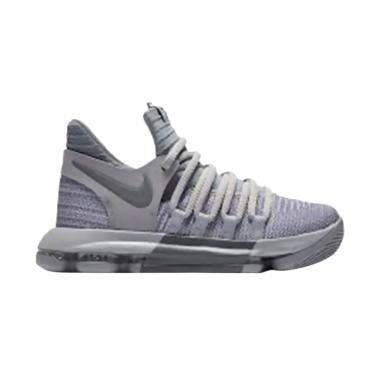 NIKE Zoom Sepatu Basket Pria - Grey [KD10 BG]
