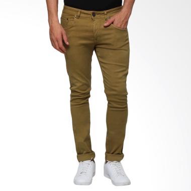 Boy London Slim Fit Celana Jeans Pria - Brown