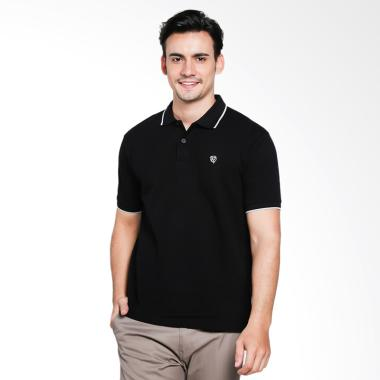Red Cliff Wangky Polo Shirt Pria - Black [XD1002JJ]