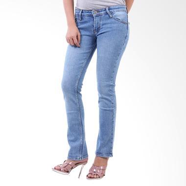 JSK Jeans Cutbray 9135 Celana Wanita - Biru Muda