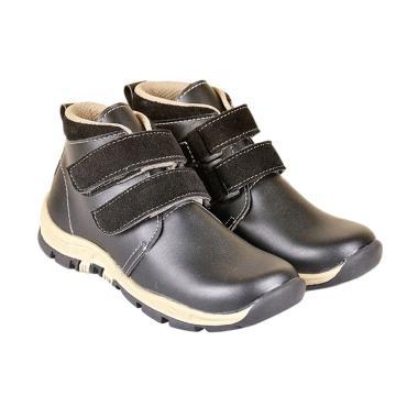 Recommended 349 Sepatu Boots Anak Laki-laki - Hitam