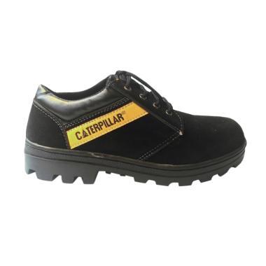 Caterpillar Safety Shoes Sepatu Pria - Hitam