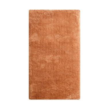 Vision CR 331 Soft Shaggy Polos Karpet - Light Brown [110 x 160 cm]