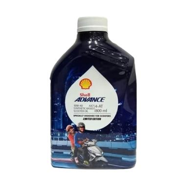 Shell Advance 4 AT AX7 Scooter Oli Pelumas Motor 800 ML 10W 40