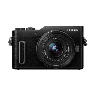 harga Panasonic Lumix DC-GF10 Kit 12-32mm Kamera Mirrorless Black Free Battery DMW-BLH7E - Braga Photo & Video Blibli.com
