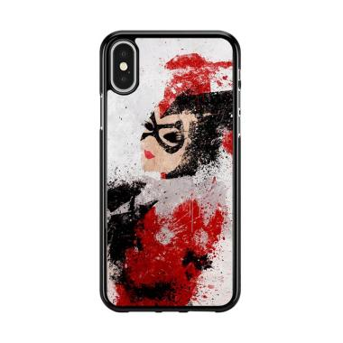 Flazzstore Harley Quinn Painting Z1686 Premium Casing for iPhone X