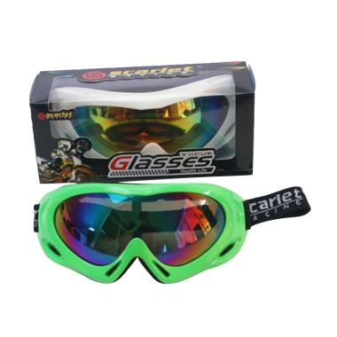MBMOTOR Scarlet Racing 1212 Kacamata Cross - Green Raiben