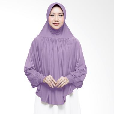 Cotton Bee Azalia Bergo Lengan Jilbab Instant - Irish Violet