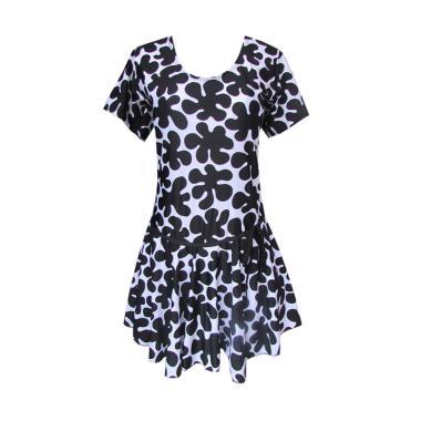 Rainy Collections Rok Jumbo Motif S ... nang Wanita - Black White