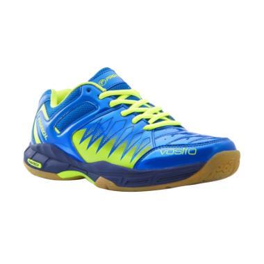 Protech Vostro 1.0 Sepatu Badminton Pria - Blue Green