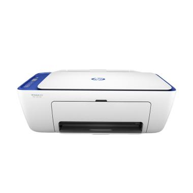 HP 2676 DeskJet Printer - White Blue