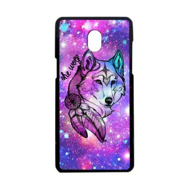 Bunnycase She Wolf Galaxy L0564 Custom Hardcase Casing for Samsung Galaxy J3 Pro or J3 2017