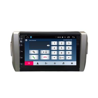 TOMIKO OEM Fit Android Head Unit Double Din for Innova Reborn Plus Sim Card  [8 inch]