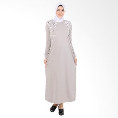 Edberth Fashion Aleeya Long Dress Muslim Wanita