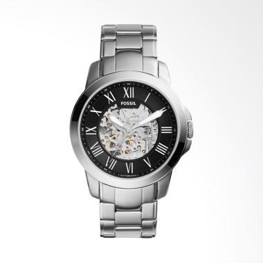 Fossil Grant Automatic Jam Tangan Pria - Silver [ME3103]