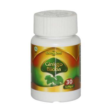 Nature's Pride Ginkgo Biloba Suplemen Kesehatan [30 Softgels]