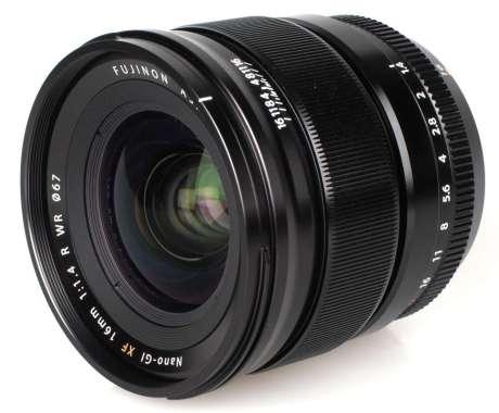 Fujifilm XF 16mm f/1.4 R WR Lensa Kamera - Black