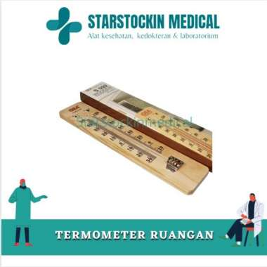 harga Termometer Ruangan Air Raksa Kayu Merk GEA Medical Blibli.com