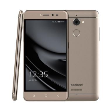 Coolpad Fancy E561 Smartphone - Coffe Brown [16GB/2GB]