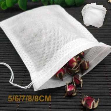 harga VRS Miss Rose Kantung Filter Saringan Teh Teabag Disposable 100 PCS - M100 Blibli.com