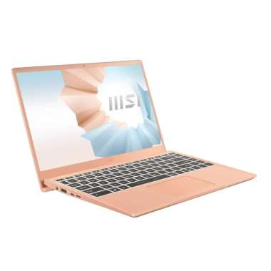 harga MSI MODERN 14-B11MO-070 [Intel I7-1165G7/8GB/512GB SSD/FHD IPS/WIN10] BEIGE Blibli.com
