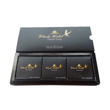 Black Walet Facial Soap [3 Sabun]