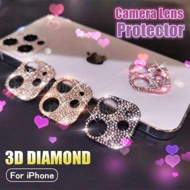 harga FREE ONGKIR Pelindung Lensa Kamera Aksen Glitter Berlian Imitasi Untuk Iphone 12 11 Pro Max 12mini Blibli.com