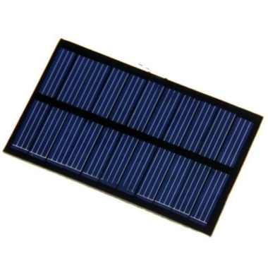 harga Promo DIY Mini Solar Panel for Smartphone  Powerbank - 5V 1.1W 220MA Limited Blibli.com