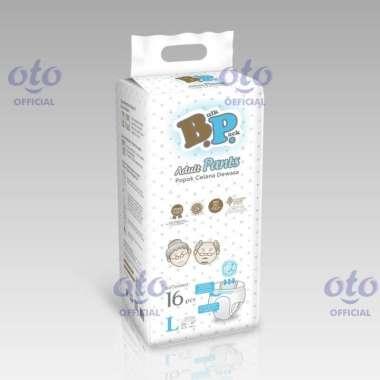 harga BP Diapers Adult Pants Popok Dewasa model Celana size L isi 16 pcs (BAP-16L) Blibli.com